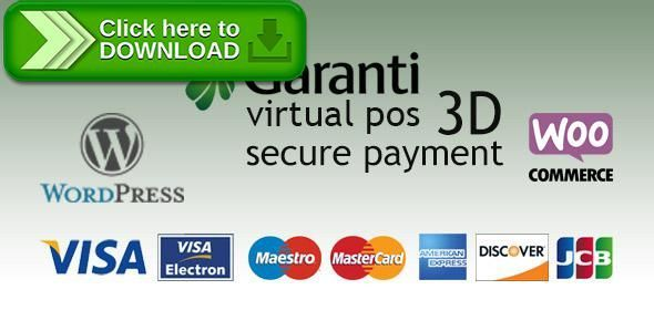 [ThemeForest]Free nulled download Garanti 3D Virtual POS Gateway for WooCommerce from http://zippyfile.download/f.php?id=44431 Tags: ecommerce, 3D secure, credit card, Garanti, garanti pay, garanti sanal pos, garantipay, mastercard, online payments, payment gateways, sanal pos, virtual pos, visa, woocommerce, wordpress