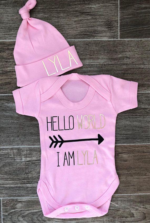 db270adeb Hello World baby vest