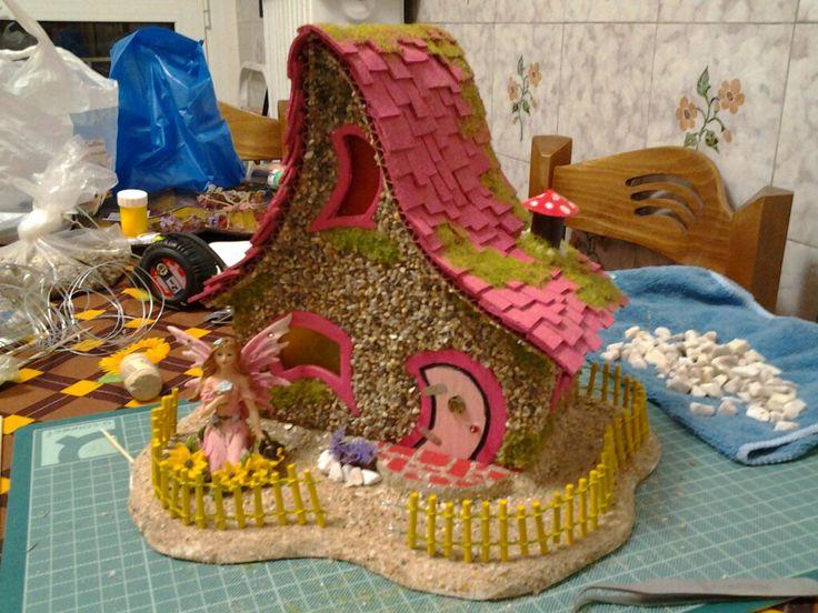 My ferst fairy house in greece