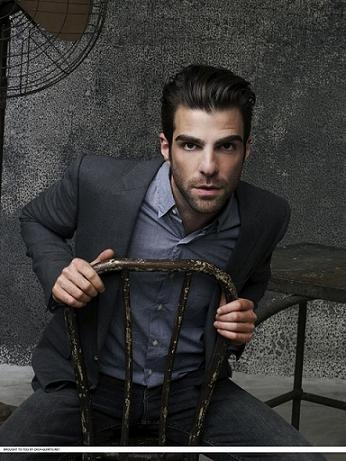 Zachary Quinto played Chad on American Horror Story: Murder House