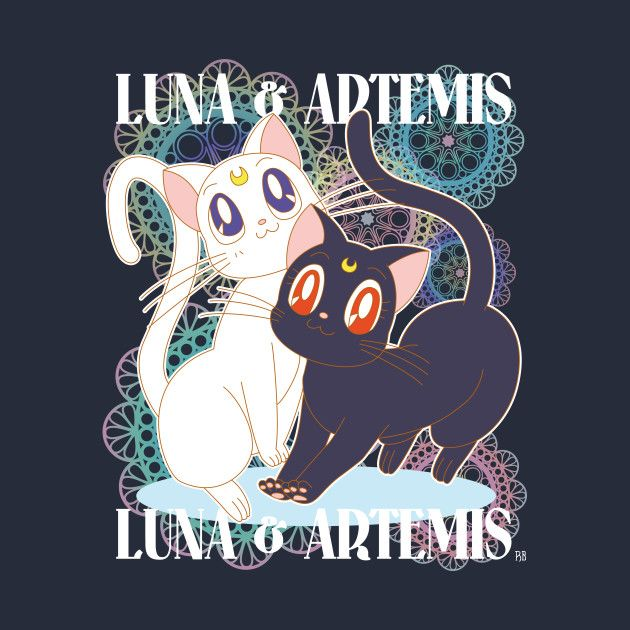 Check out this awesome 'Luna+%26+Artemis' design on @TeePublic!