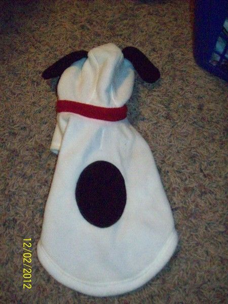 Small Dog Snoopy Costume..So Cute