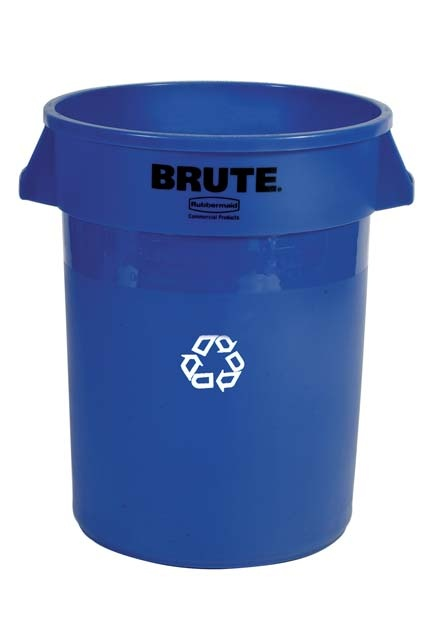 20 Gallons, Brute recycling container without lid: Brute container without lid for the recyle