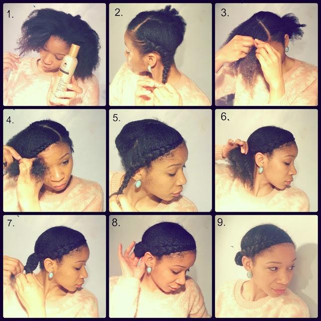 @Crystal Chou Chou Afro's swooping braid and bun tutorial. #UKNaturals #TeamNatural #OfficiallyNatural