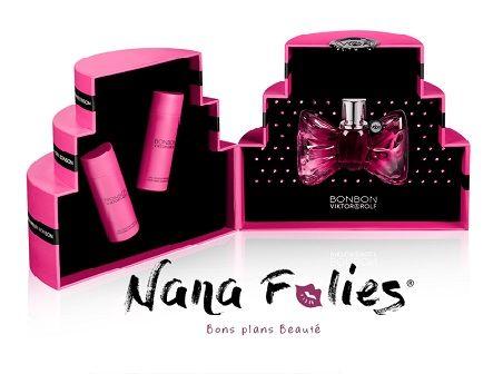 Coffret parfum Viktor Rolf Bonbon - 74.25€ #bonplanbeauté #blog #cosmetics #parfums #femme #soin #gel