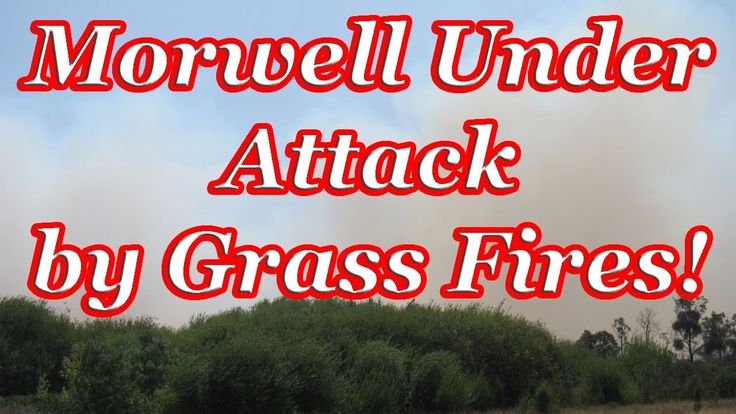The Morwell Fires (City of Morwell Under Attack by Grass Fires 2014-02-09)