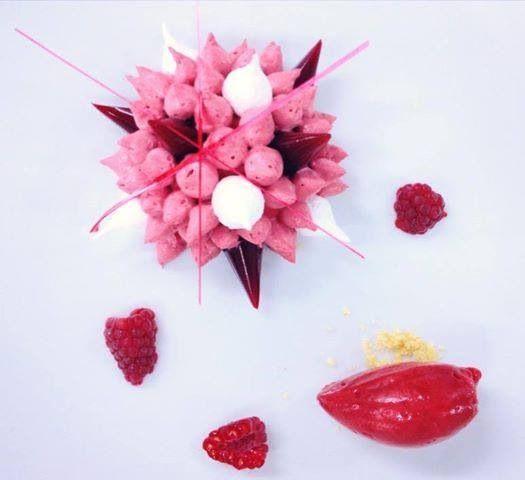 taste the raspberry