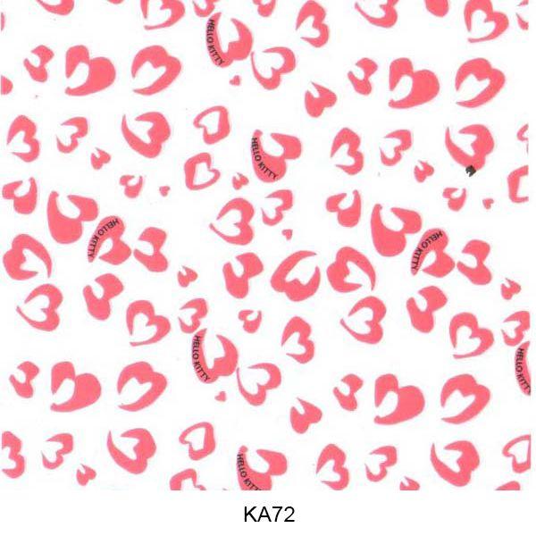 Water transfer film animal skin pattern KA72