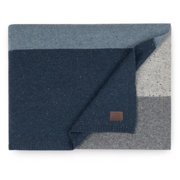Ugg Jumper Stripe Throw ($145) ❤ liked on Polyvore featuring home, bed & bath, bedding, blankets, navy multi, navy blue blanket, navy throw blanket, navy blue bedding, stripe blanket and navy blue throw blanket