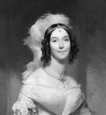 Angelica Singleton Van Buren, First Lady 1839-1841, Daughter-in-law of Martin Van Buren