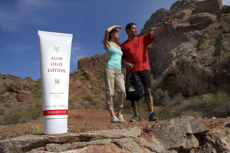 Relieve aches and pains with Aloe Heat Lotion