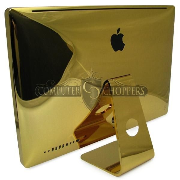 Gold plated iMac anyone?