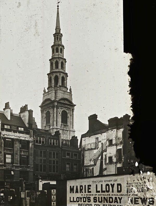 St Bride, Fleet St, 1922, London