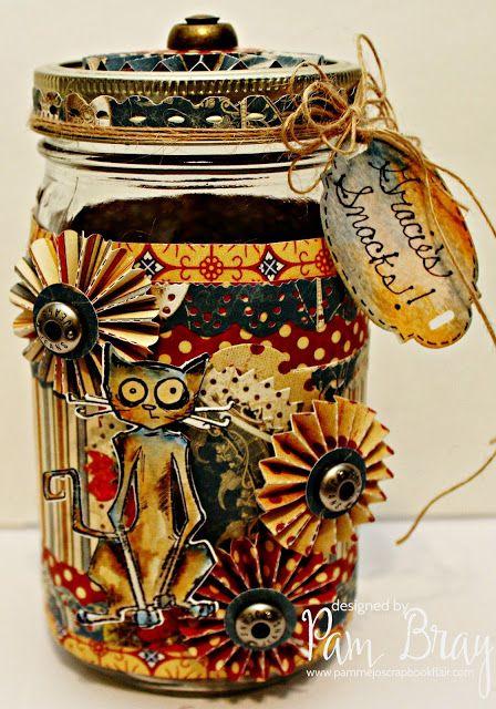 Gracies Snacks Upcycle Jar mit Craftwell