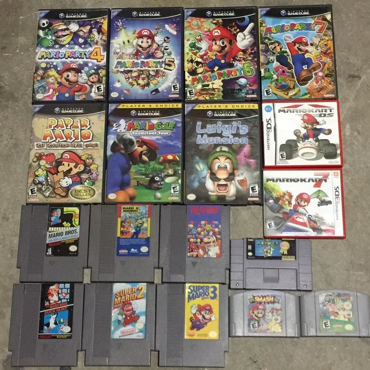 Shared by cartridge_kings #nes #microhobbit (o) http://ift.tt/2f11DdR Mario Monday we have a ton of Mario games for sale. See one you want shoot us a message. #mario #mariobros #marioparty #papermario #mariogolf #mariokart #supersmashbros #luigismansion #gamecube #3ds #ds  #snes #n64 #nintendo #supernintendo #nintendo64 #retro #collecting #forsale