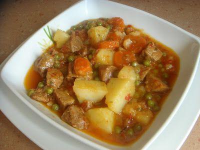 Carne estofada en olla rápida   Yo me lo guiso... tu blog de recetas de cocina
