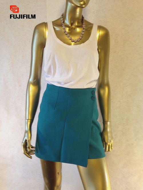Бирюзовая юбка,  размер 42-44