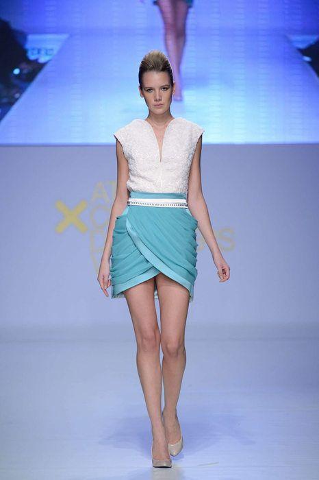 @anastasiadosi for #axdw #silk #pink #top #silk #skirt #mouseline #chiffon #handmade #hautecouture #exclusive #tailoring
