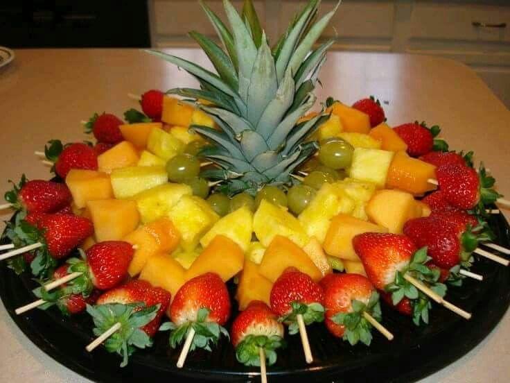 Pinchos de frutas                                                                                                                                                                                 Más