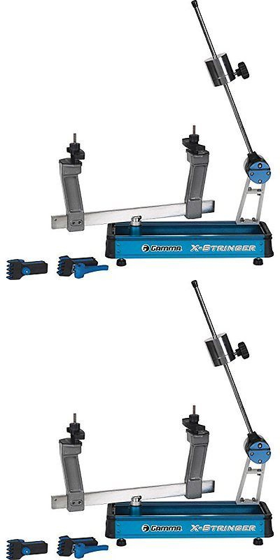 Other Tennis 2917: Gamma X-2 Tennis Racquet Racquet Stringing Machine Complete W Stringing Get Th -> BUY IT NOW ONLY: $166.85 on eBay!