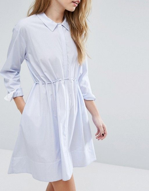 French Connection Smithson Stripe Cotton Dress
