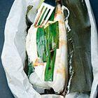 Pakjes kabeljauwfilet gemarineerd met kombu - recept - okoko recepten