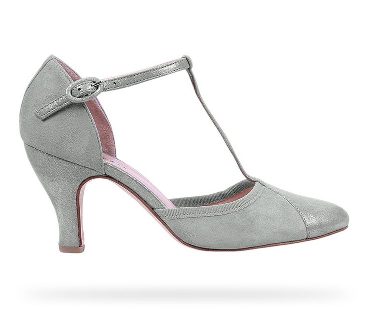 T-strap shoe Baya Patent Leather Mystic Grey Metallic Goatskin Suede by Repetto. #Repetto #Wedding #WeddingShoes #Metallic #MetallicShoes