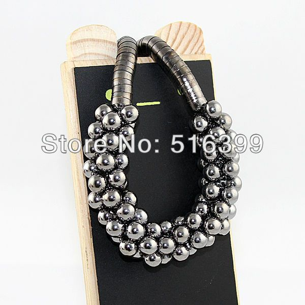 2013 fashion top hot selling unique multilayer short bead necklace and free shipping on AliExpress.com. $5.38