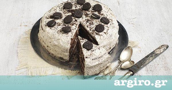 Τούρτα γενεθλίων με σοκολάτα και μπισκότα από την Αργυρώ Μπαρμπαρίγου   Μοναδική γεύση και εντυπωσιακή όψη, ό,τι πρέπει για γενέθλια. Θα κλέψει καρδιές!