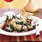 Farfalle with Sausage, Cannellini Beans, and Kale Recipe   MyRecipes.com
