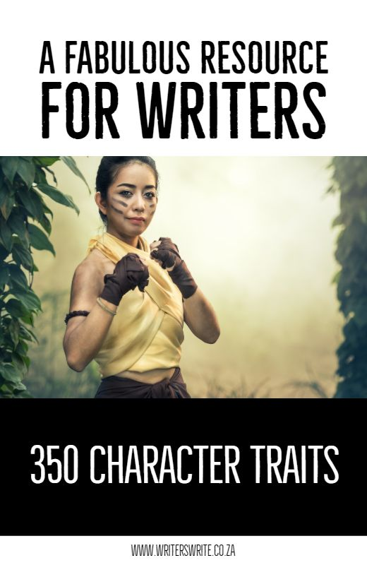 350 Character Traits