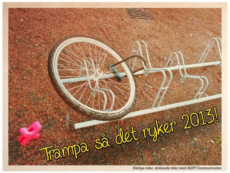 Trampa så det ryker 2013!