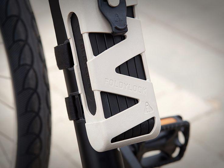 Foldylock, candado para bicicleta plegable de alta seguridad - Catálogodiseño magazine