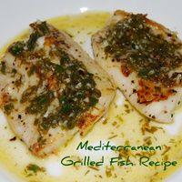 Grilled Fish Recipe - Easy Mediterranean Recipes