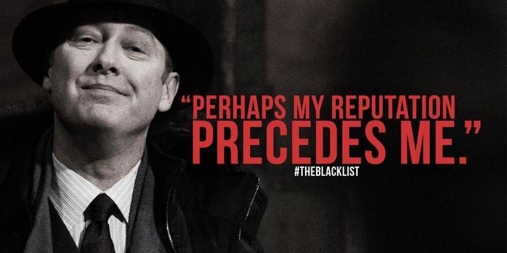 blacklist red quotes