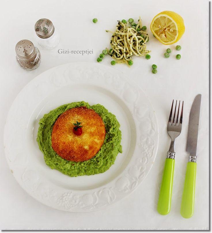 Gizi-receptjei.  Várok mindenkit.: Petrezselymes tésztával töltött mozzarella zöldbor...
