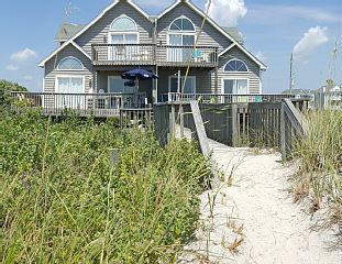 Oceanfront Beach Beauty!   Vacation Rental in Topsail Island from @homeaway! #vacation #rental #travel #homeaway