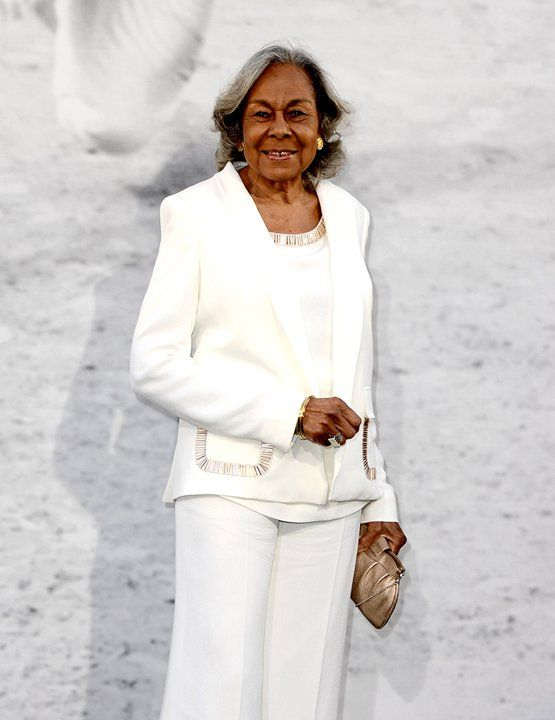 """Rachel Robinson widow of the late great Jackie Robinson at Premiere Of Warner Bros. Pictures """"42"""""""