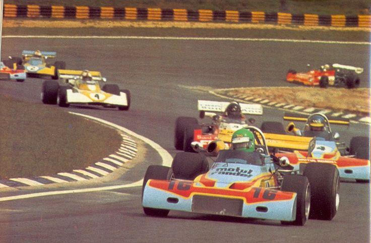 16 - Henri Pescarolo - Brabham BT38 Cosworth BDA - Motul Rondel Racing -14 - Ronnie Peterson - Brabham BT38 Cosworth BDA - Motul Rondel Racing - II Torneio Brasiliero Formule 2 1972