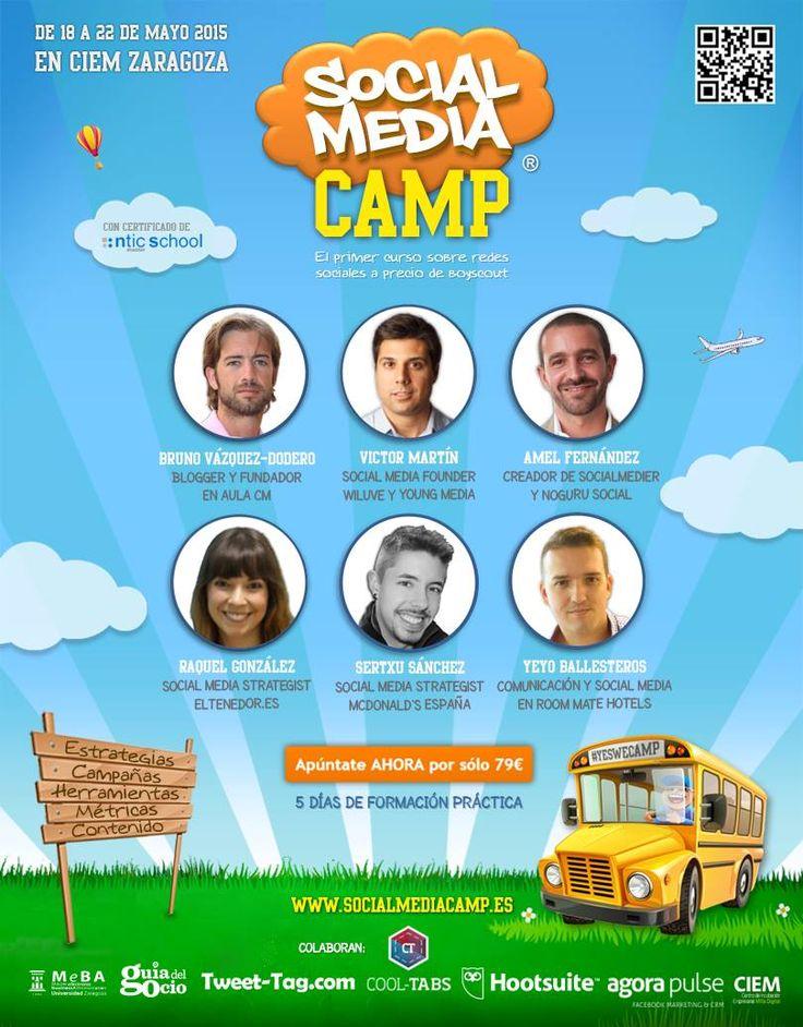 #SocialMediaCamp #CampZGZ 2015