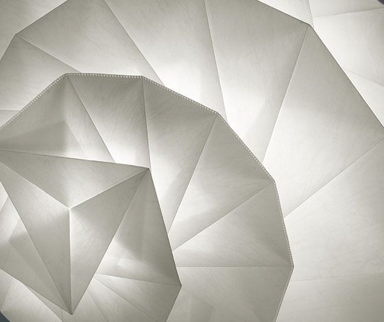 'IN-EI' lighting collection by Issey Miyake for Artemide (IT)
