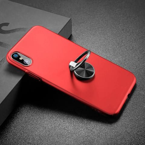 iPhone X Ultra Thin Ring Holder Case - Black,Blue,Red Luxury iPhone X Case with  Ring Finger Used as Kickstand  iphone x case with ring stand  Awesome iPhone 10 iPhone X Apple Products link website cases awesome products shops store buy for sale  website online shopping free shipping accessories  phone covers beautiful gifts AuhaShop.com protective Buy Online Shopping Store Shop Free Shipping Best Cheap Bulk Wholesale Gift Ideas Cases Australia United States UK Canad