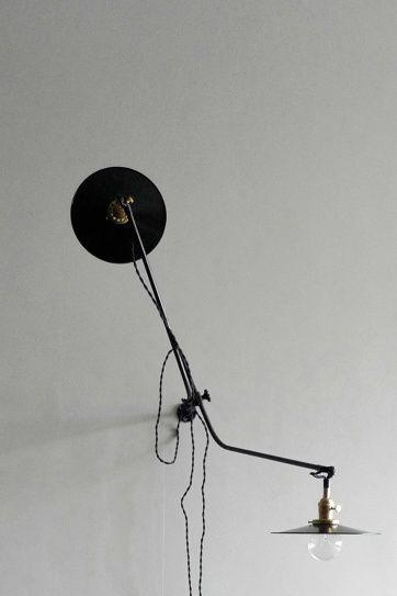 Workstead Bent wall lamp | Artilleriet | Inredning Göteborg