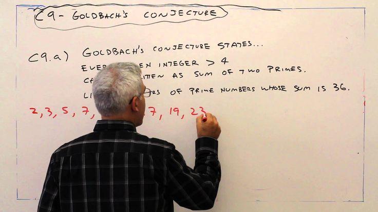 C9--Goldbach's Conjecture