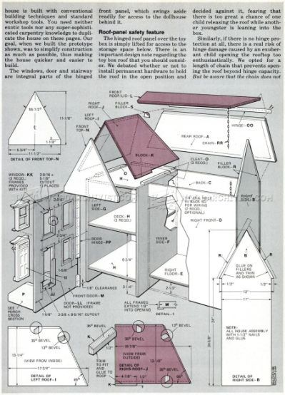 Free Dollhouse Plans Victorian | Pophuis | Pinterest