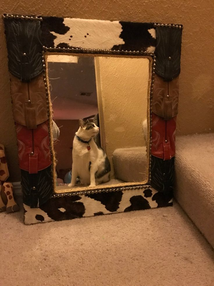 letgo - Western mirror 25 inches by 22 inches in Dallas, TX