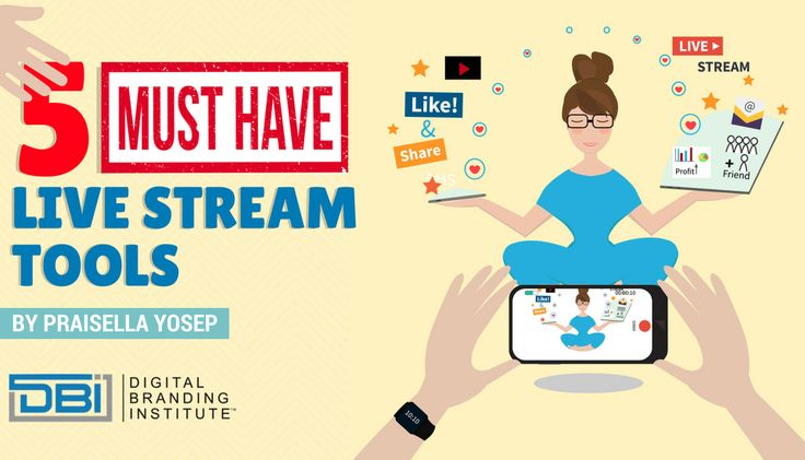 Whether you're a live stream novice or you've done a few live streams before, you want to offer a high-quality broadcast to your audience. Here are 5 must have live stream tools for your next live stream.