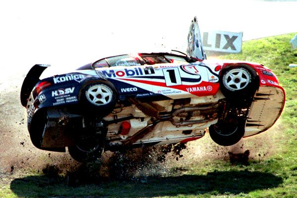 #Holden #V8Supercars driver #CraigLowndes in one of his biggest accidents in the sport.
