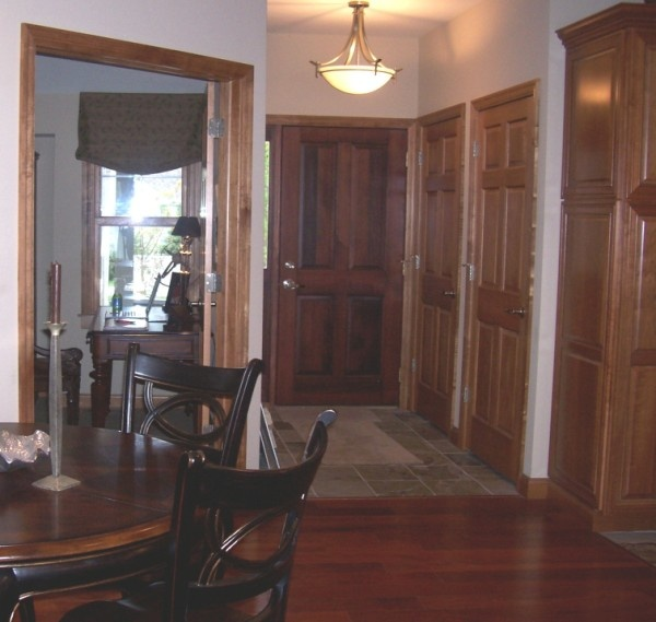 Interior Design With Dark Wood Trim Good Plans Images Frompo