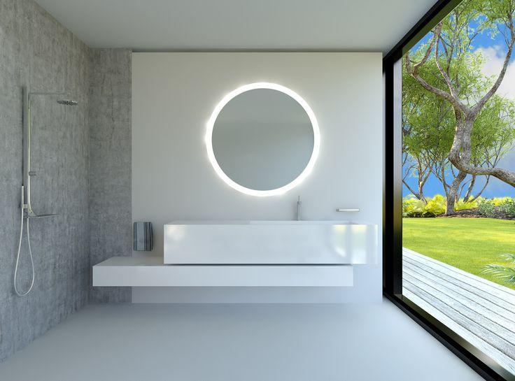 Luxury Badspiegel Wandspiegel und Spiegel nach Ma beleuchtet bei spiegelshop https spiegelshop